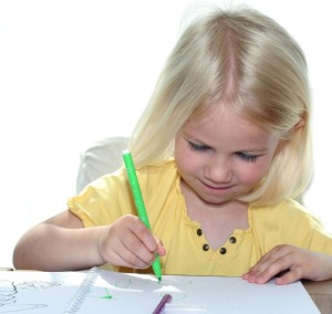 Pencil grip for handwriting